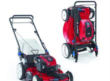 Toro launches petrol mower that can be stored vertically against a wall