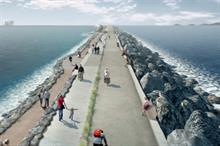 World's first tidal lagoon by LDA Design scoops top prize at Landscape Institute Awards