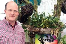 Orchid house opened by plant hunter Hart Dyke