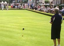 Performance of the greens at new English Bowls home and centre, Victoria Park, hailed by Bowls England