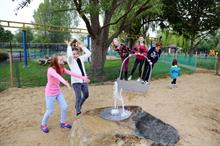 Timberplay adds water for summer fun at historic park