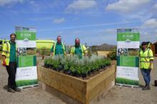 Glendale helps Bideford school children create their perfect garden