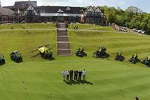 Woodbury Park Golf Club using full John Deere equipment fleet