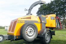Forst ST8 woodchipper