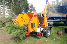 Timberwolf TW 160PH woodchippers