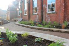 CED Stone sponsors memorial garden