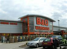 Outdoor seasonal product sales up but overall group trading down at B&Q owner Kingfisher.