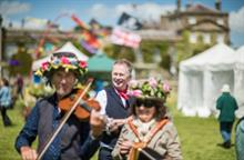 Toby Buckland Bowood House festival revives garden club activity