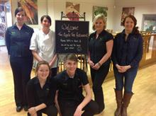 Gardens Group wins catering award for local sourcing