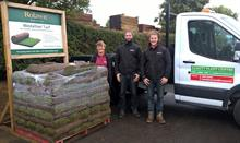 Rolawn delivers 160 millionth turf roll