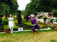 Agrumi celebrate Alice in Wonderland at Hampton Court