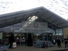 First glimpse of Rosebourne Garden Centre