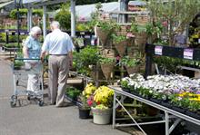 Garden centre sales falll 5% in May