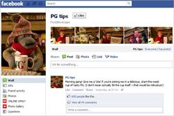 PG Tips is 'most engaged with' UK brand on Facebook