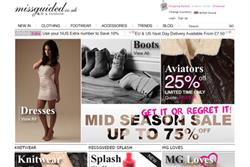 Missguided ramps up marketing activity