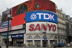 TDK to update Piccadilly Circus display