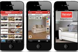 Sofa retailer to push 'test drive' app