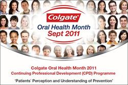 Colgate promotes oral health with £1m marketing push