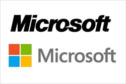 Microsoft waves in first logo update for 25 years