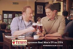 Tetley's revamps ITV4 idents in £5m push
