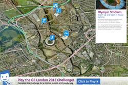 GE tells its Olympics story with interactive map