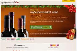 Mysupermarket launches wine comparison site