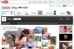 Tesco relaunches YouTube channels