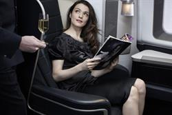 British Airways promotes first-class cabin revamp