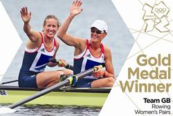 Olympic rowing gold medal duo in Royal Mail stamp first