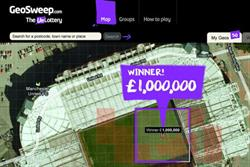 Upstart geo-location game bids to rival the National Lottery