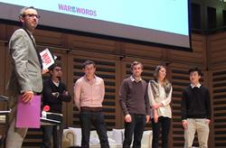 War of the Words: Highlights and interviews with the winners