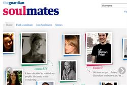 Guardian News & Media seeks digital shop for Soulmates dating site