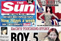 The Sun on Sunday to launch debut TV ad during the Brits