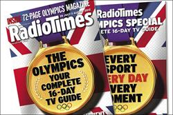 Radio Times launches Olympics bumper issue ad