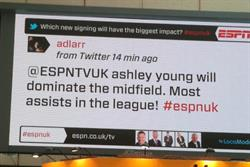 ESPN launches real-time digital outdoor campaign