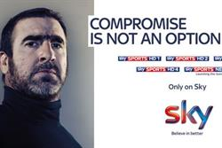 Sky enlists Cantona for Sky Sports campaign