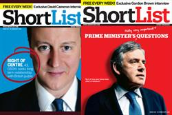 Gordon Brown talks sport and student days in ShortList