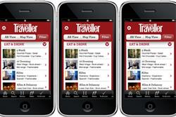 Condé Nast Traveller reveals new apps