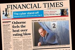 Pearson chief John Fallon denies the FT is for sale as sales increase 4%