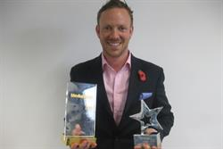 Primesight's Clarkson picks up second award