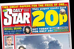 Desmond targets tabloid rivals with half-price Daily Star
