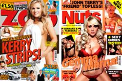 Lads' mags see big falls in National Readership Survey