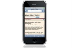 FT launches new mobile website