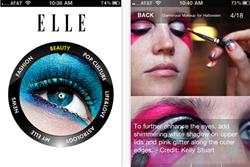 Hachette Filipacchi launches Elle iPhone app