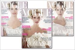 Vogue gets Royal Wedding boost in May issue ad pages