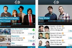 C4 brings out dedicated 4oD iPhone app