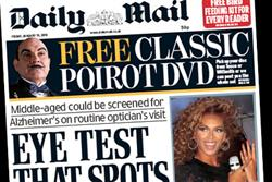 Daily Mail stays ahead of falling market with X Factor promo