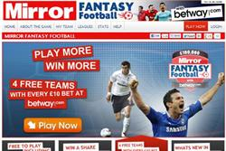 Trinity Mirror signs up Betway for new fantasy football platform
