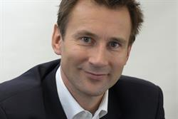 Hunt unveils plans to license a new regional TV multiplex