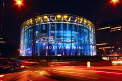 Ocean Outdoor lights up the IMAX for Panasonic's Blu-Ray recorder launch